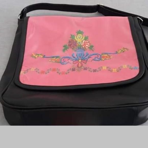 Handbags - embroidered handbag set women pu leather maqam sho